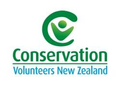 Logo for Conservation Volunteers New Zealand